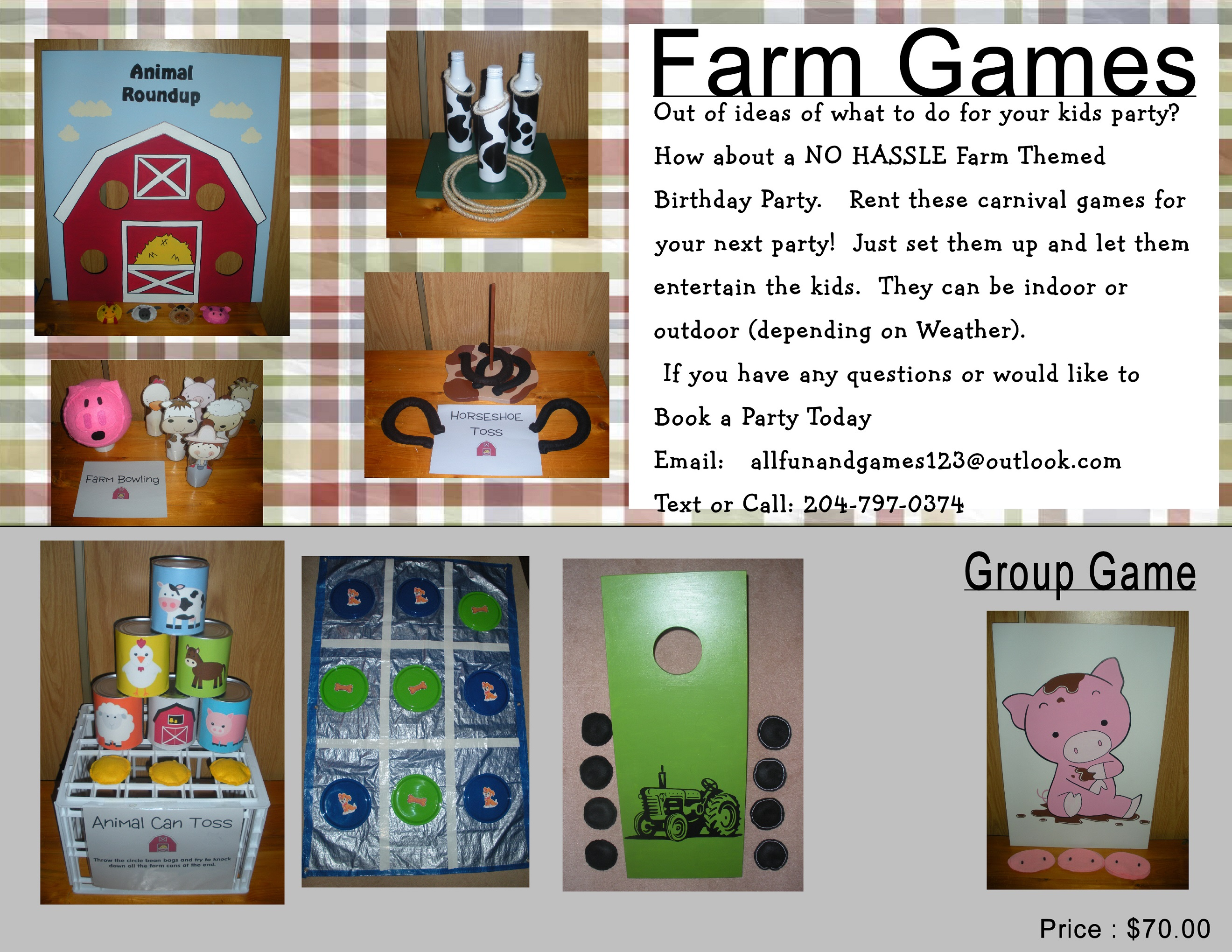 Kids Big Game Packages All Fun and Games