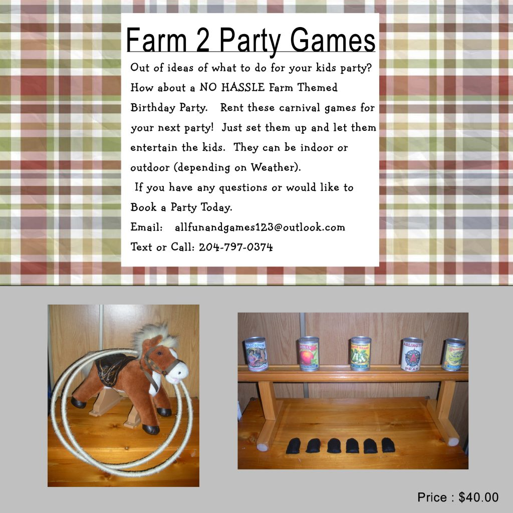Farm2 Party Package