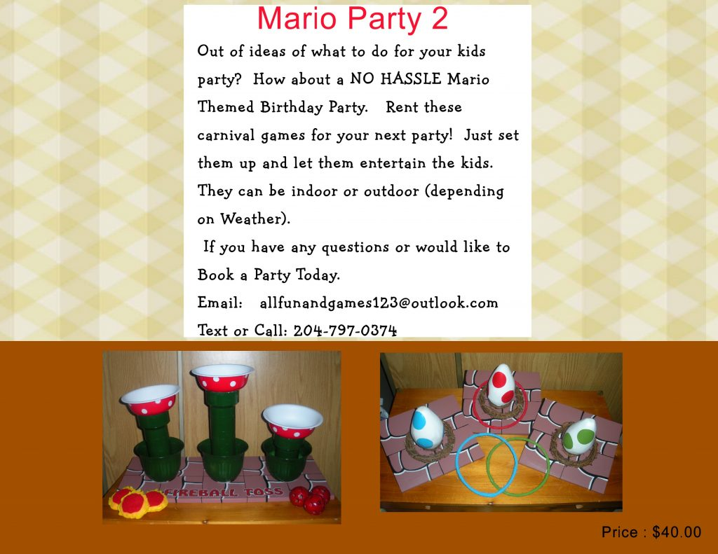 Mario2 party package