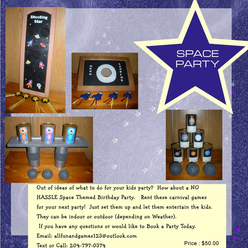 Space Party Package