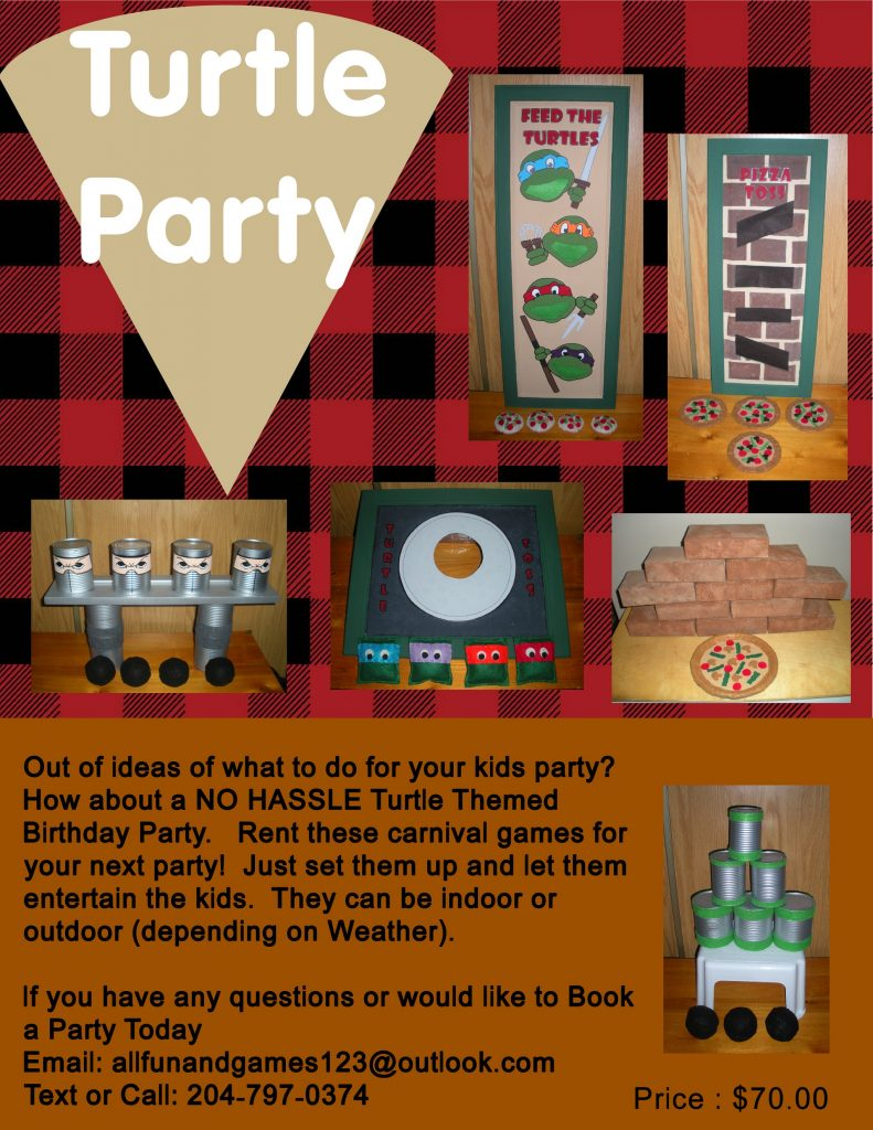 Turtle party package