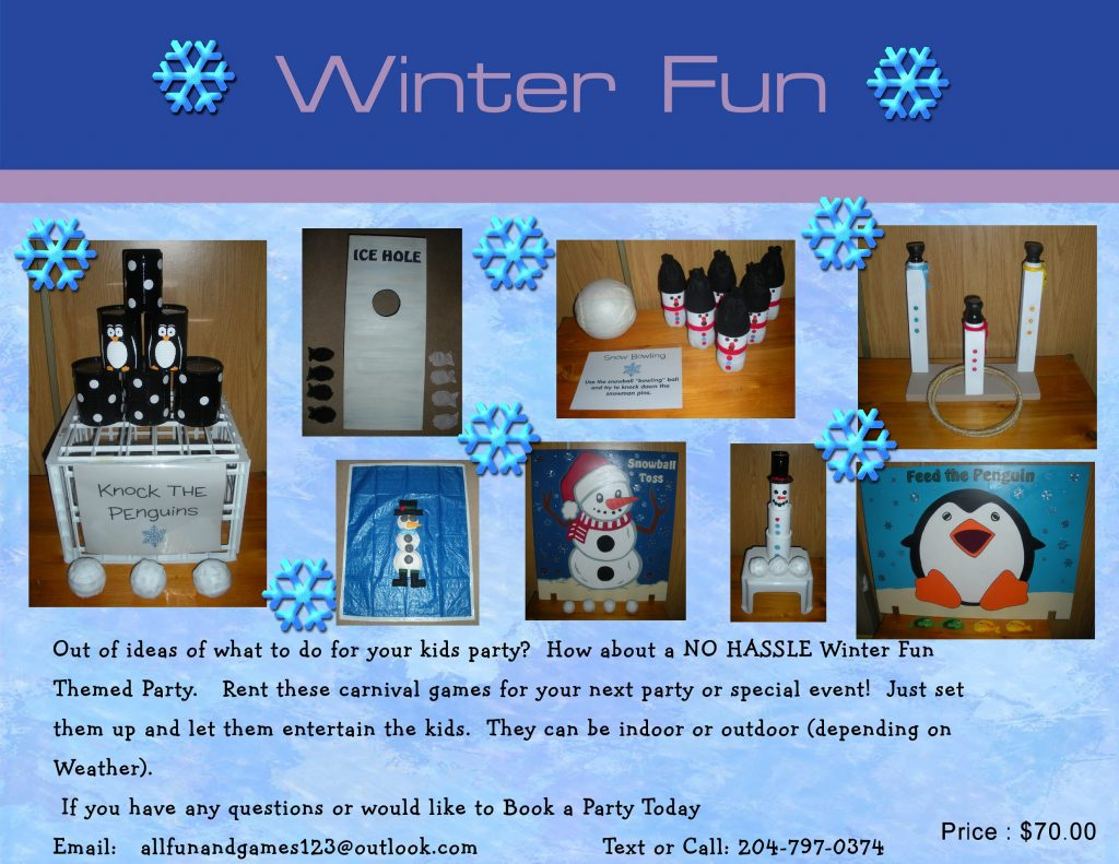 Winter Party Package
