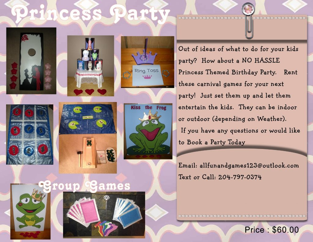 princess and prince Party package_001